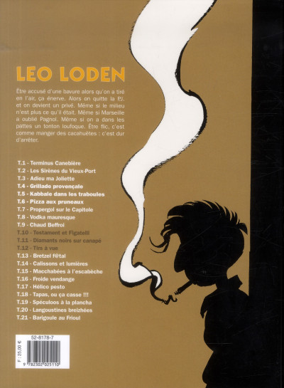 Dos Léo Loden - intégrale tome 4 - tome 10 à tome 12