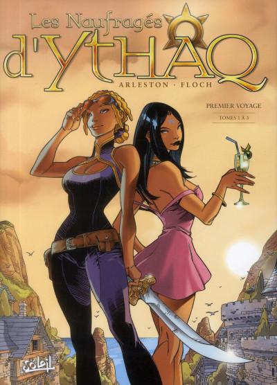 Couverture les naufragés d'Ythaq - intégrale tome 1 - tome 1 à tome 3