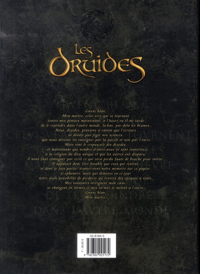 Dos les druides - intégrale tome 1 à tome 6