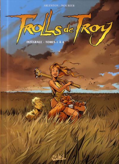 Couverture Trolls de Troy - intégrale tome 1 à tome 4
