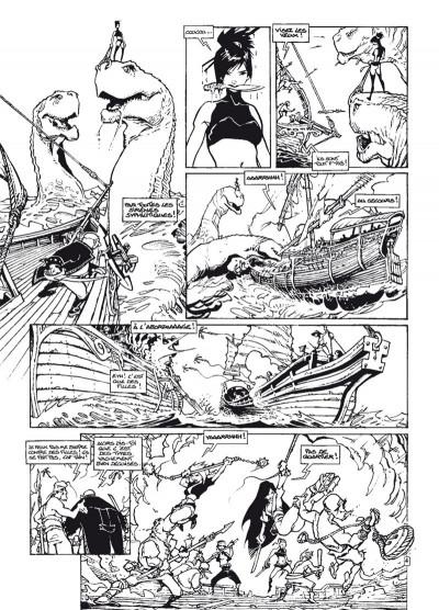 Page 4 Cixi de Troy - intégrale noir et blanc