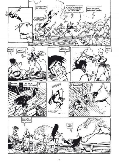 Page 5 Cixi de Troy - intégrale noir et blanc