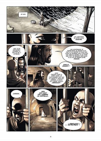 Page 6 Le cinquième évangile tome 3