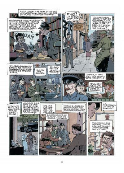 Page 4 Harry Dickson, le Sherlock Holmes américain T.6 - terreur jaune