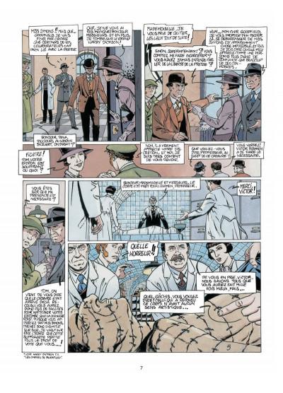 Page 5 Harry Dickson, le Sherlock Holmes américain T.6 - terreur jaune
