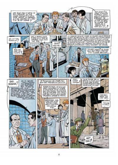 Page 6 Harry Dickson, le Sherlock Holmes américain T.6 - terreur jaune