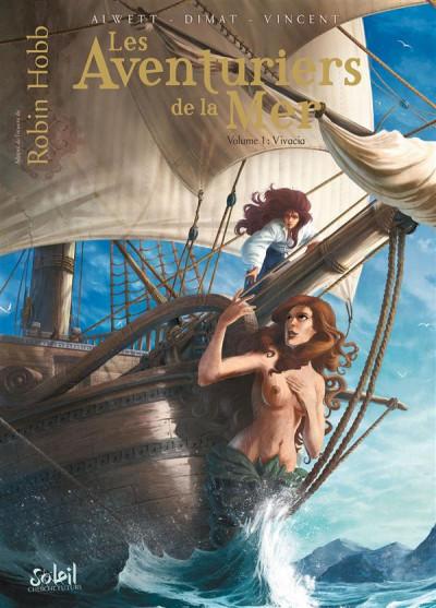 image de les aventuriers de la mer tome 1 - Vivacia