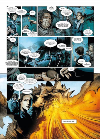 Page 3 la geste des chevaliers dragons T.16 - la déesse