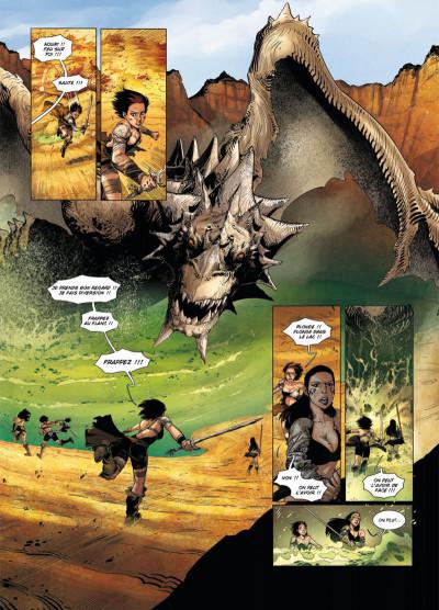 Page 4 la geste des chevaliers dragons T.16 - la déesse