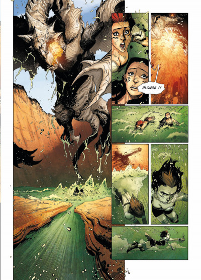 Page 5 la geste des chevaliers dragons T.16 - la déesse
