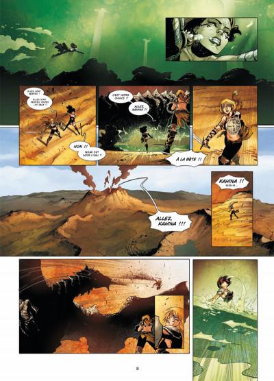 Page 6 la geste des chevaliers dragons T.16 - la déesse