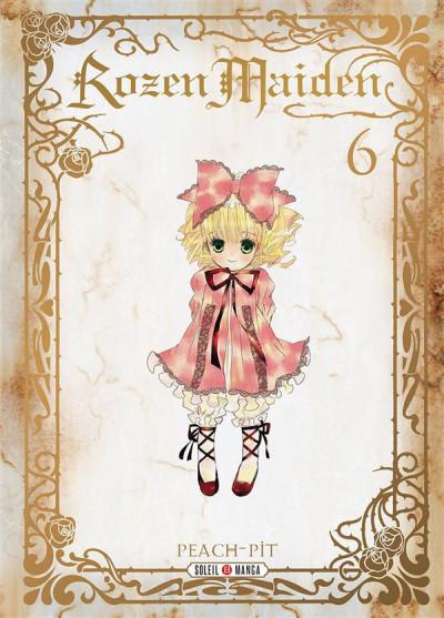 Couverture rozen maiden tome 6 - édition deluxe