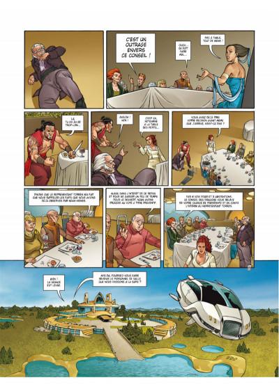 Page 4 Moréa tome 7 - la fureur des anges