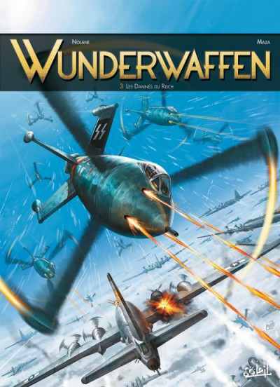 Couverture Wunderwaffen tome 3
