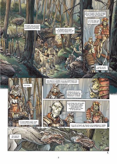 Page 1 mercenaires tome 3 - Ju-oeil-de-dragon