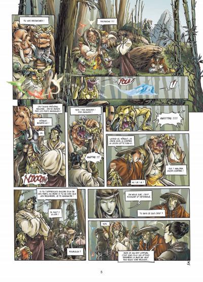 Page 3 mercenaires tome 3 - Ju-oeil-de-dragon