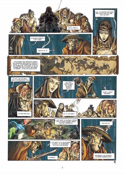 Page 5 mercenaires tome 3 - Ju-oeil-de-dragon