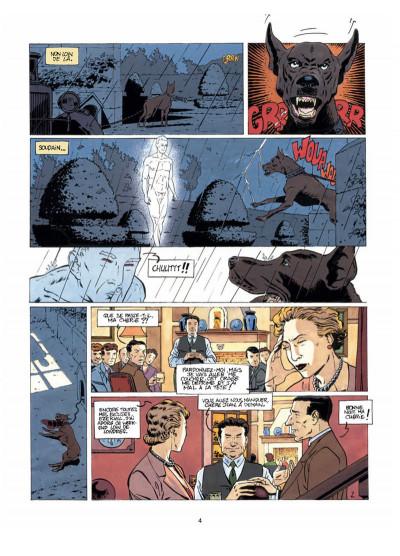 Page 2 Harry Dickson, le Sherlock Holmes américain T.7 - les loups de Darkhenge