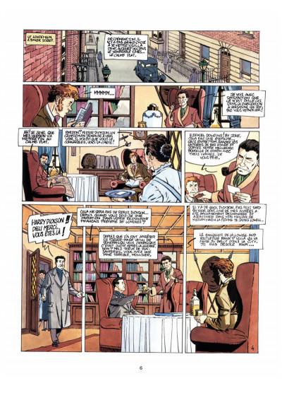 Page 4 Harry Dickson, le Sherlock Holmes américain T.7 - les loups de Darkhenge