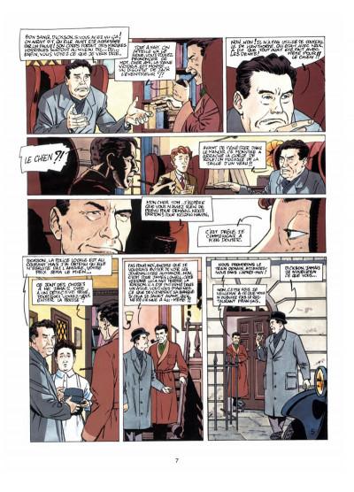 Page 5 Harry Dickson, le Sherlock Holmes américain T.7 - les loups de Darkhenge