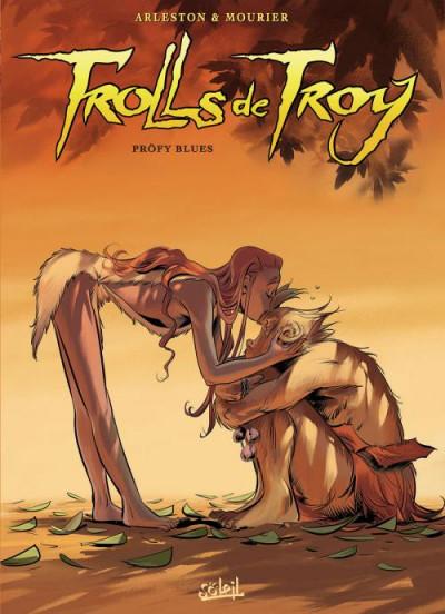 Couverture Trolls de Troy tome 18 - Pröfy Blues