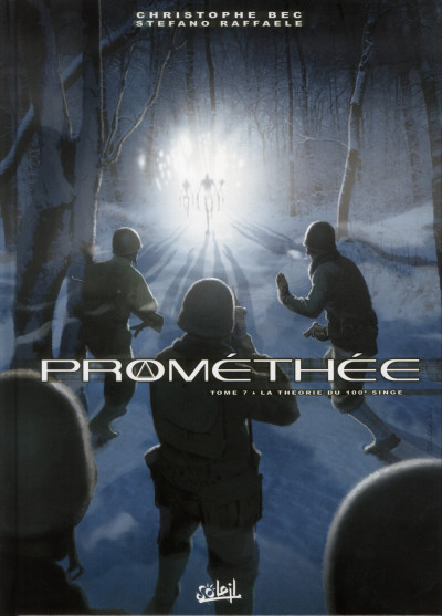 Couverture Prométhée tome 7 - la théorie du 100e singe