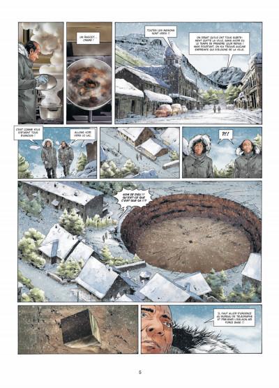 Page 3 Prométhée tome 7 - la théorie du 100e singe