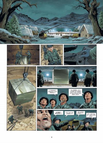 Page 4 Prométhée tome 7 - la théorie du 100e singe