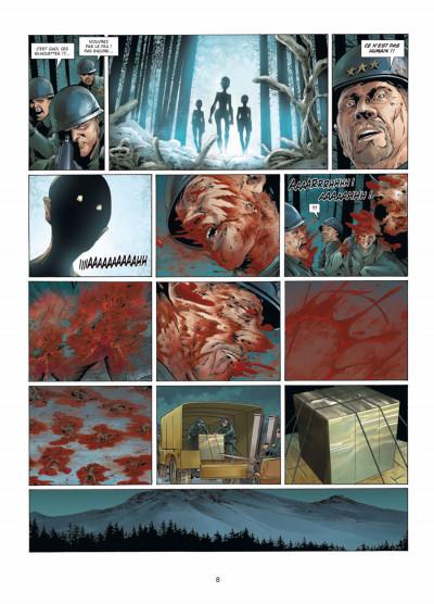 Page 6 Prométhée tome 7 - la théorie du 100e singe