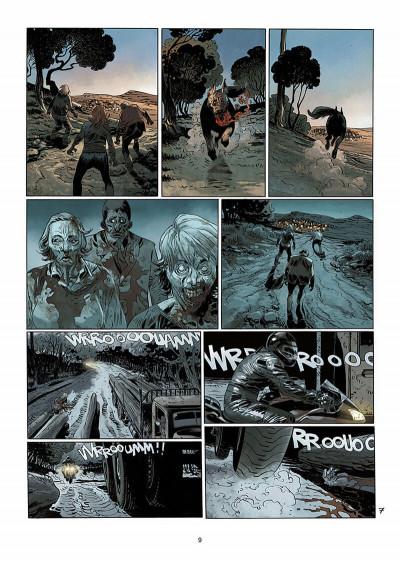 Page 0 Dead life tome 2 - ténèbres