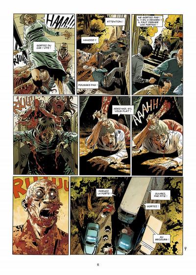 Page 7 Dead life tome 2 - ténèbres