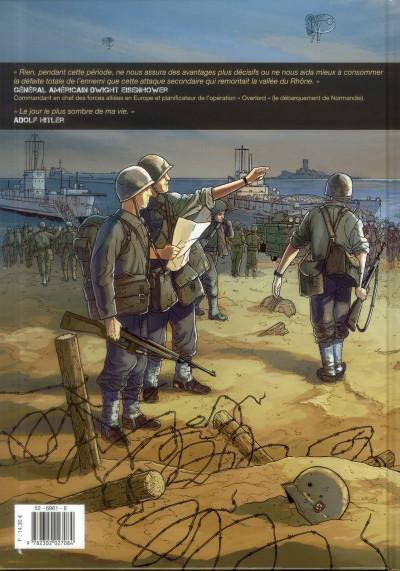 Couverture bleu blanc sang tome 1 - Provence, août 1944