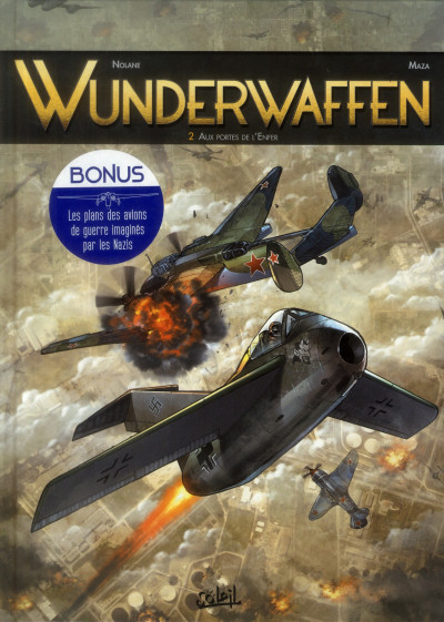 Couverture Wunderwaffen tome 2