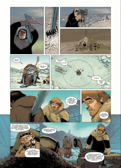 Page 4 inlandsis tome 2 - le legs des vrais hommes