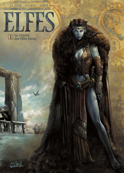 Couverture Elfes tome 1