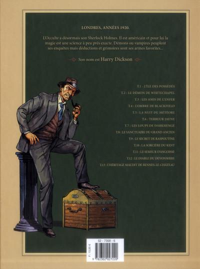 Dos Harry Dickson, le Sherlock Holmes américain tome 1 - l'ile des possédés