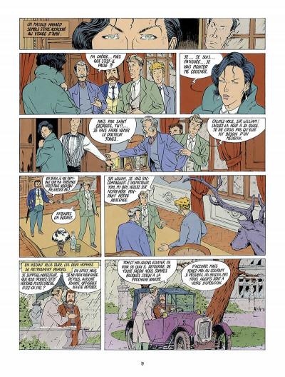 Page 0 Harry Dickson, le Sherlock Holmes américain tome 1 - l'ile des possédés