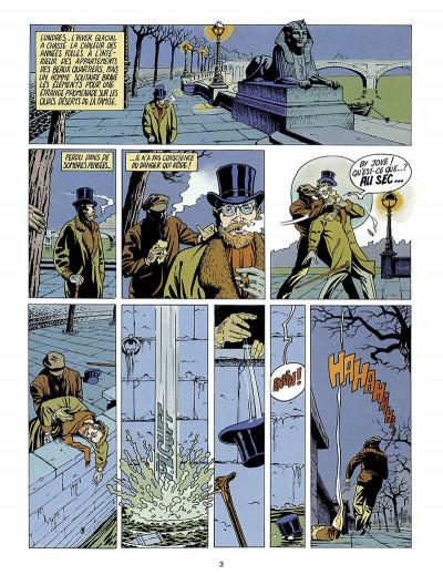 Page 4 Harry Dickson, le Sherlock Holmes américain tome 1 - l'ile des possédés