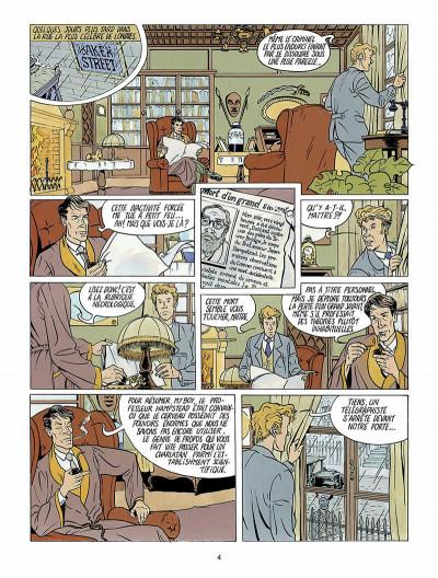 Page 5 Harry Dickson, le Sherlock Holmes américain tome 1 - l'ile des possédés