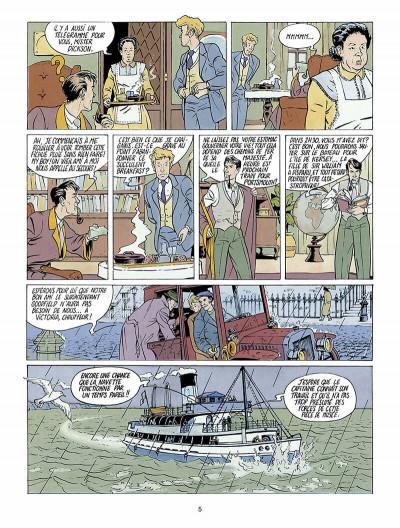 Page 6 Harry Dickson, le Sherlock Holmes américain tome 1 - l'ile des possédés
