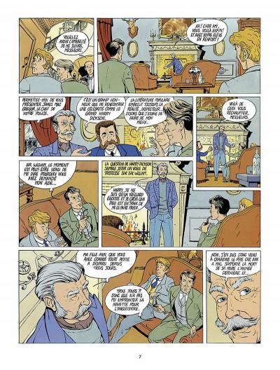 Page 8 Harry Dickson, le Sherlock Holmes américain tome 1 - l'ile des possédés