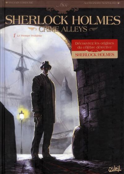 Couverture Sherlock Holmes - crime Alleys tome 1 - le premier problème