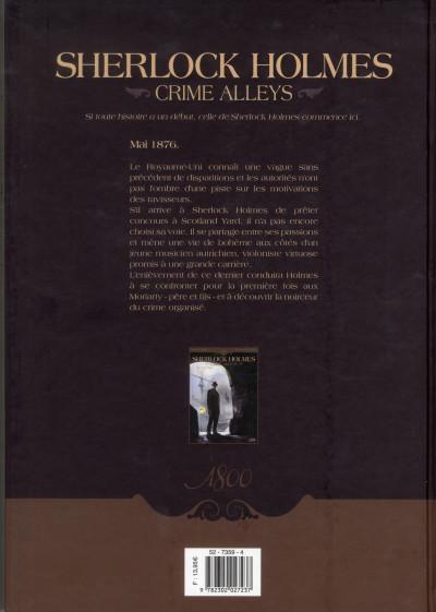 Dos Sherlock Holmes - crime Alleys tome 1 - le premier problème