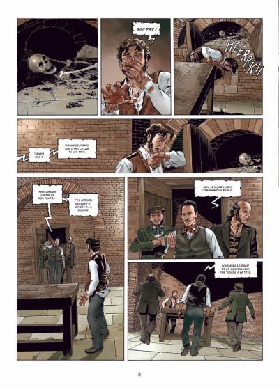 Page 4 Sherlock Holmes - crime Alleys tome 1 - le premier problème