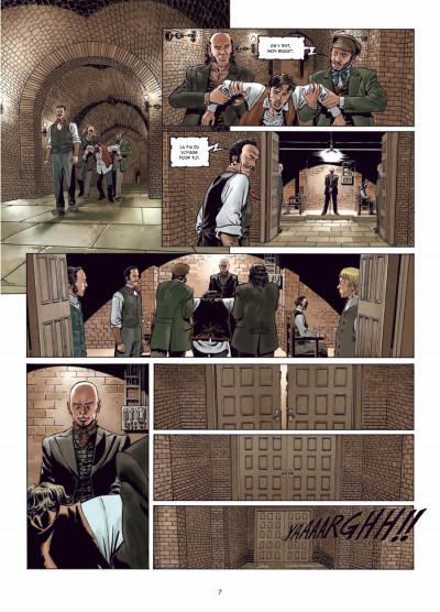Page 5 Sherlock Holmes - crime Alleys tome 1 - le premier problème