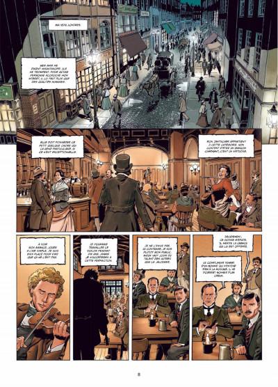 Page 6 Sherlock Holmes - crime Alleys tome 1 - le premier problème