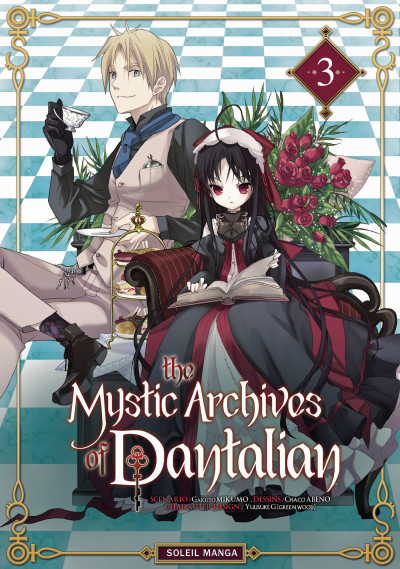 Couverture the mystic archives of Dantalian tome 3