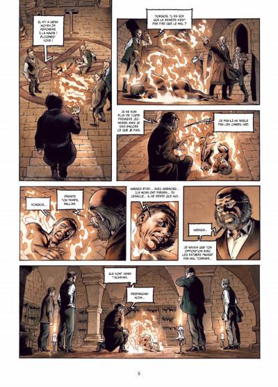 Page 3 la mandragore tome 2 - la part sombre