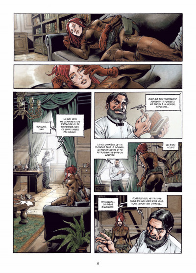 Page 4 la mandragore tome 2 - la part sombre