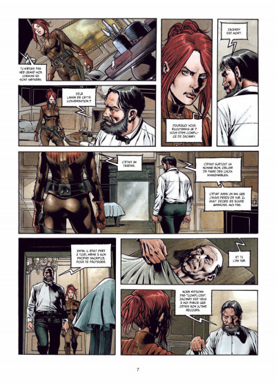 Page 5 la mandragore tome 2 - la part sombre